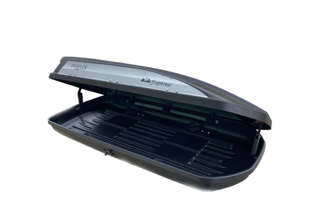 Perflex Bosphorus Bagaj Çift Yönlü Siyah 500 lt