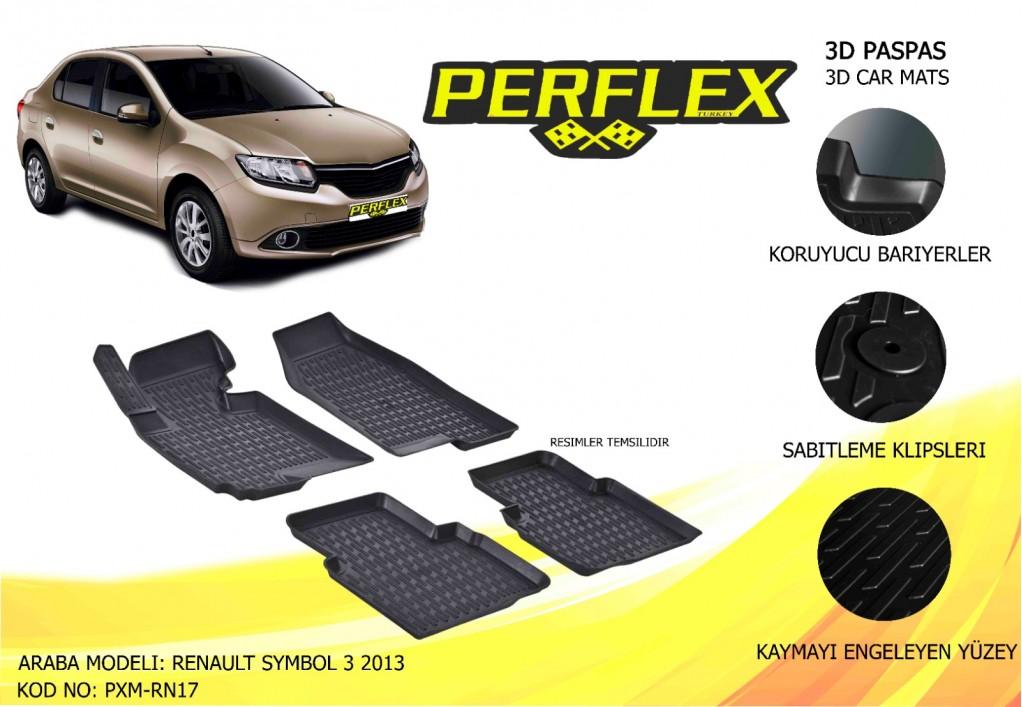 X-MAT PASPAS RENAULT CLIO SYMBOL  3 2013