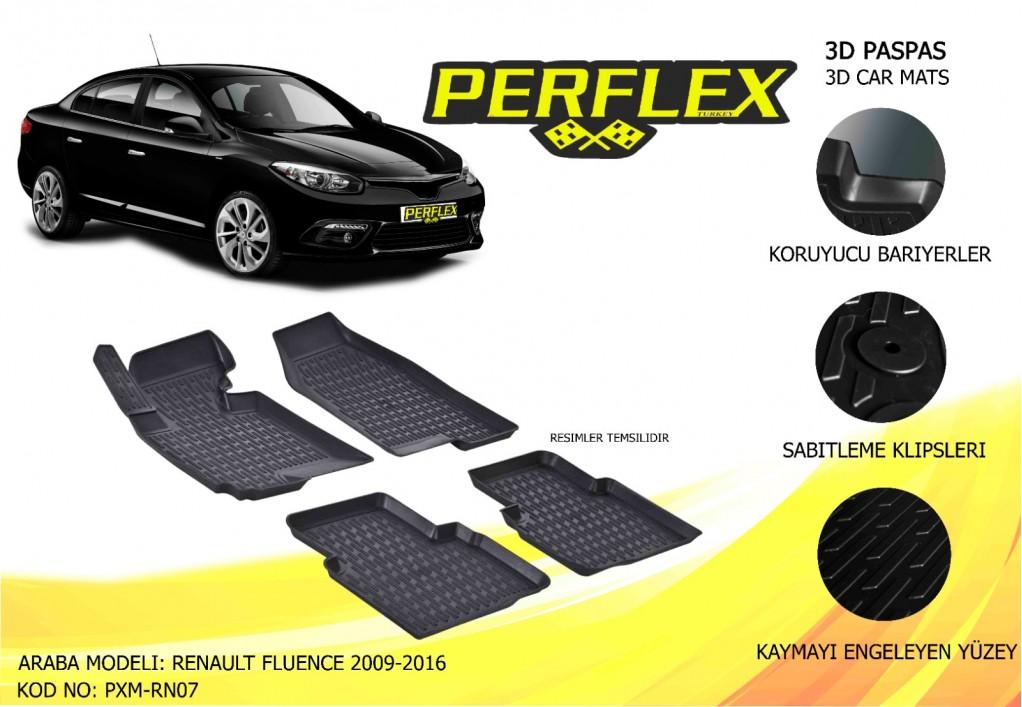 X-MAT PASPAS RENAULT FLUENCE 2009-2016