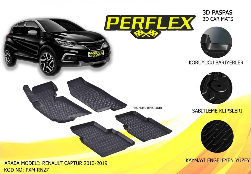 X-MAT PASPAS RENAULT CAPTUR 2013-2019