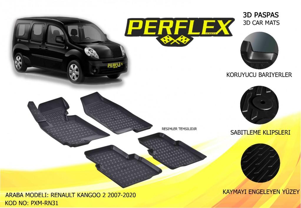 X-MAT PASPAS RENAULT KANGOO 2 2007-2020