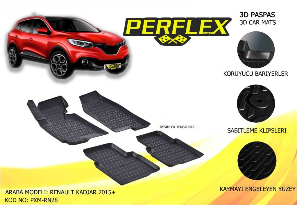 X-MAT PASPAS RENAULT KADJAR 2015